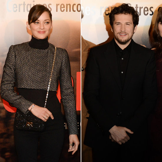 Marion Cotillard Shows Her Support For Guillaume at His Paris Premiere