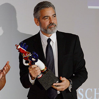 George Clooney Wins German Media Award 2013 | Pictures