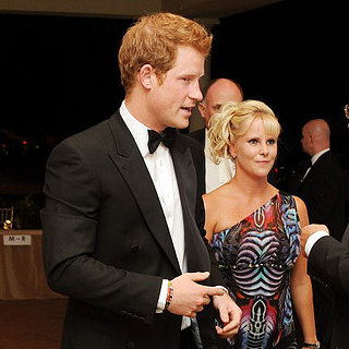 Prince Harry at Sentebale Gala 2013
