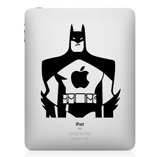 Channel your inner kid (or big kid) spirit with a Batman iPad mini decal ($7).