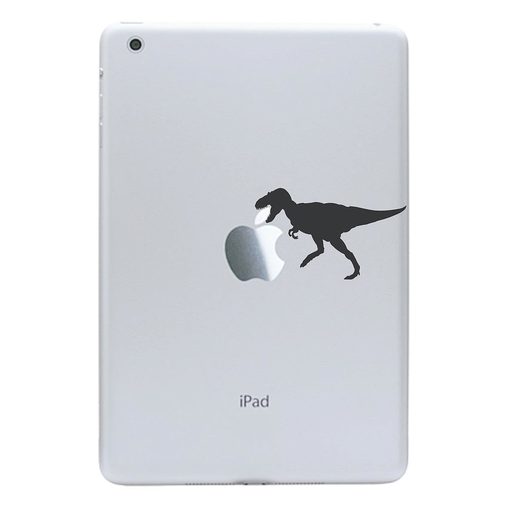 Who else could recognize the awesomeness of a  T-rex iPad mini decal ($4) but someone with an inner paleontologist?