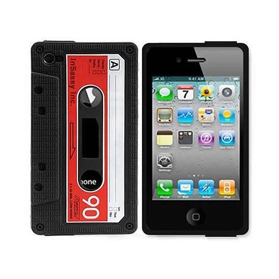 When you were rewinding your favorite jams with your fingers, did you ever think you'd be able to play songs with a tap on a touch screen? Thank the tech gods in your own way by picking up an iPhone Cassette Tape Case ($2, originally $6).