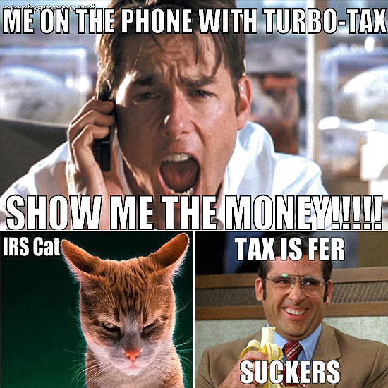 10 Amusing Memes to Get You Through Tax Season