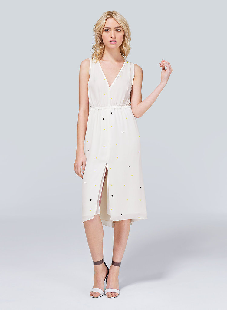 I just don't feel right going into Spring without a sweet new sundress, and I've got my eye on this T.Babaton Wilkes Dress from Aritzia ($175). The silk georgette and girlie silhouette make it so romantic, while the colorful dot print keeps it modern. — Britt Stephens, Style & Trends assistant editor
