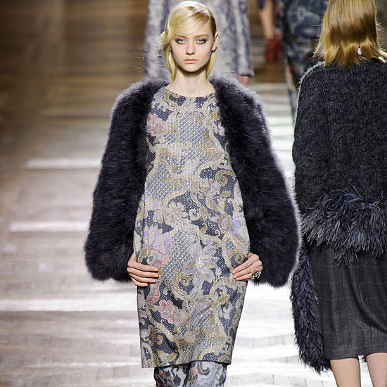 Dries Van Noten Runway | Fashion Week Fall 2013 Photos