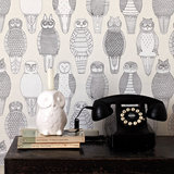 Owls of the British Isles Wallpaper