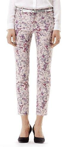 Sarah Floral Crop Pant