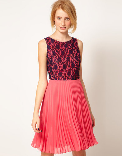 A Wear Poppy Pleat Dress