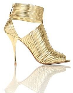 BETISA - Fine leather strand high heel