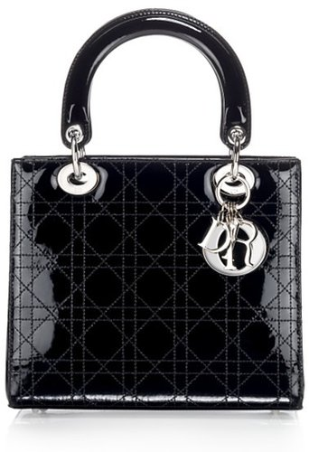 Dior Lady Dior Patent Cannage Bag