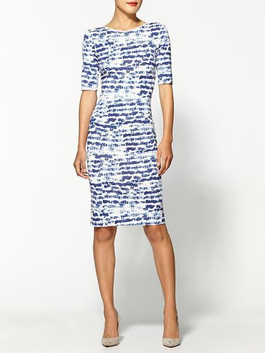 Sam & Lavi Vera Brush Stroke Print Dress