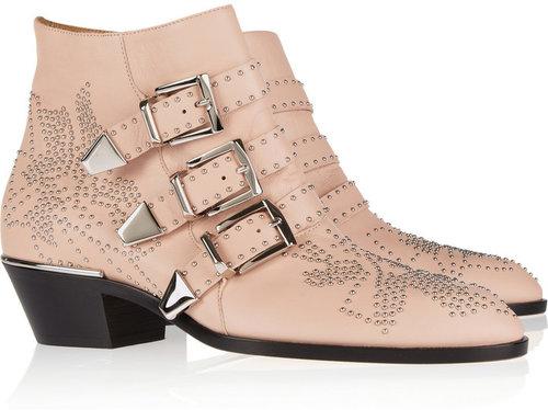 Chloé Susanna studded leather boots
