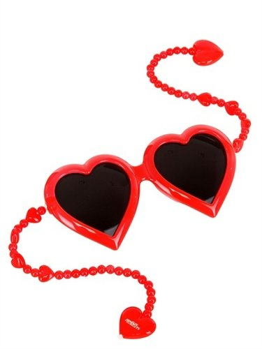 Jeremy Scott - Heart Sunglasses