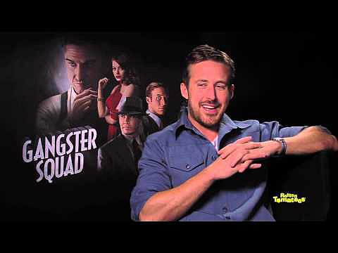 Ryan Gosling Giggles Over Dishtowel