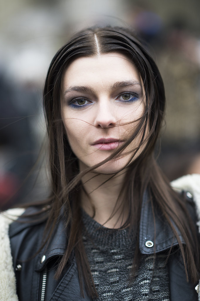 And updated smoky eye on Zen Sevastyanova gave a healthy dose of color. Source: Le 21ème | Adam Katz Sinding