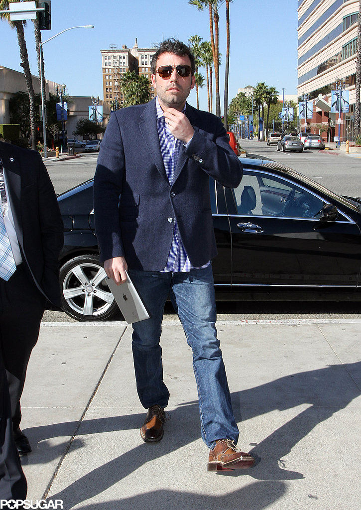 Ben Affleck stepped out in Long Beach.