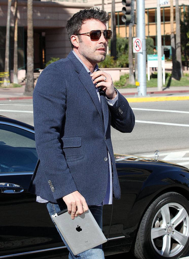 Ben Affleck Goes Beardless Post Oscars