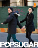 Andrew Garfield and Emma Stone held hands in NYC.