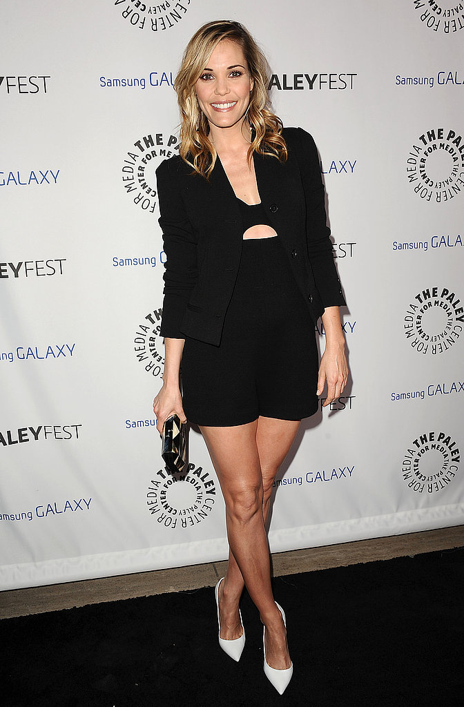 Leslie Bibb wore a chic shorts suit.