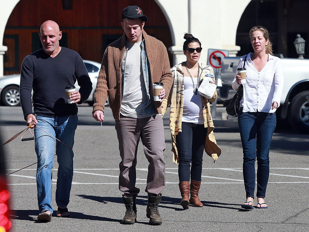 Channing and Jenna Escape to Santa Barbara With Friends