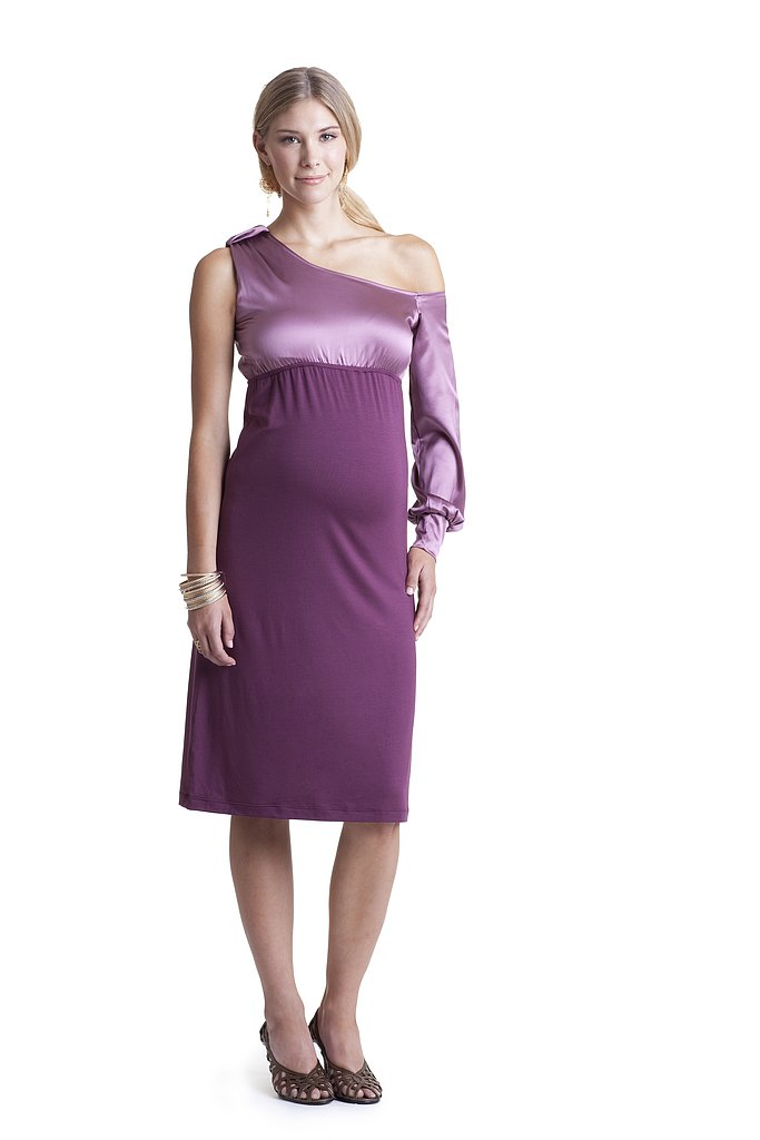 Asymmetrical Maternity Dress ($112)