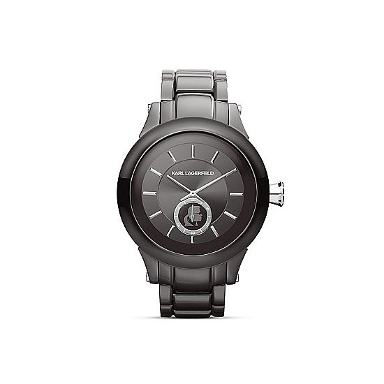 Karl Lagerfeld Karl Chain Chronograph Watch ($350).