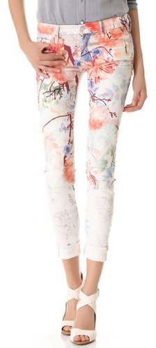Mother Pocket Full of Posies Looker Skinny Jeans