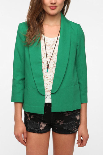 Pins and Needles Long Lapel Blazer