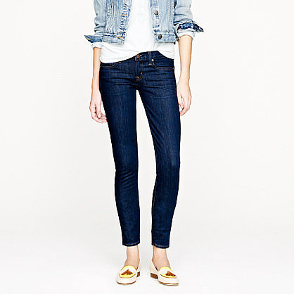Toothpick jean in classic rinse wash