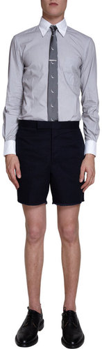 Thom Browne Pin Cord Dress Shirt