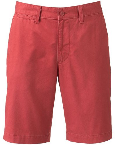 Sonoma life + style straight-fit flat-front shorts
