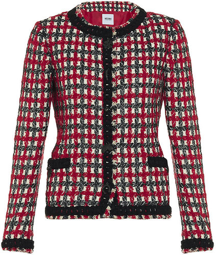 Moschino Cheap &amp; Chic Boucl Jacket