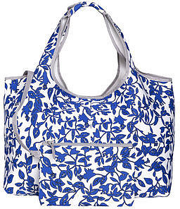 Diane Von Furstenberg Neoprene beach tote