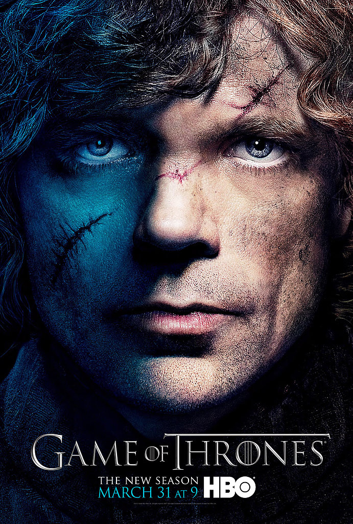 Tyrion Lannister Game of Thrones season three poster.
