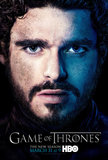 Robb Stark Game of Thrones season three poster.