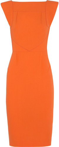 Roland Mouret Watson wool-crepe dress