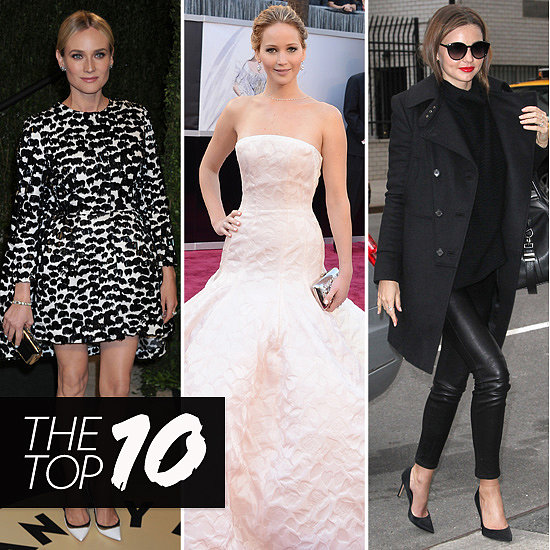 Top Ten Best Dressed of the Week: Jennifer, Miranda, Diane & More