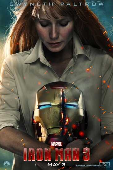 Gwyneth Paltrow returns as Pepper Potts.