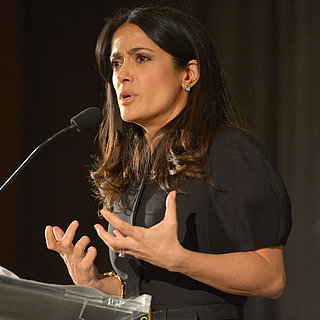 Celebrity Charity Pictures: Salma Hayek Chime For Change