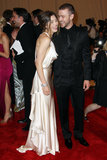 Justin Timberlake and Jessica Biel were back on the red carpet for the 2010 Met Ball in NYC.
