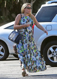 Busy Philipps headed to Hugo's restaurant in West Hollywood.