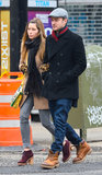 Jessica Biel and Justin Timberlake were arm in arm on Friday in NYC.