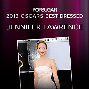 Jennifer Lawrence | Best Dressed Oscars 2013 Winner