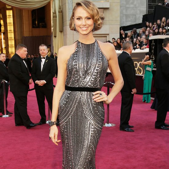 The Oscars red carpet sparkled, thanks to all of the metallic gowns.