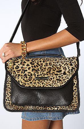 Betsey Johnson The Cheetah Mix Up Top Handle Bag