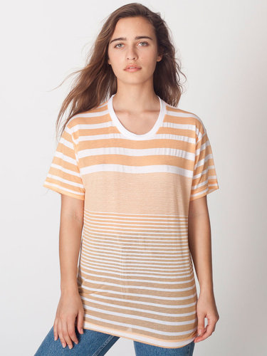 Unisex Multi-Stripe Tee