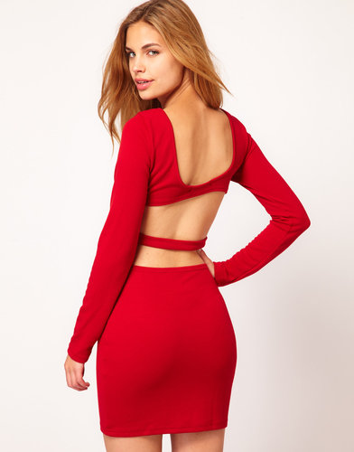 Rare Dress With Cut Out Back