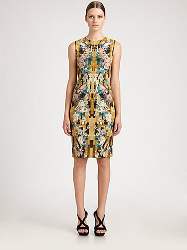 Alexander McQueen Dragonfly Jersey Dress