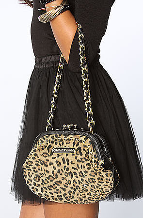 Betsey Johnson The Cheetah Mix Up Day Clutch