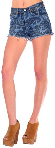 Citizens Of Humanity Chloe High Waist Cut Off Short